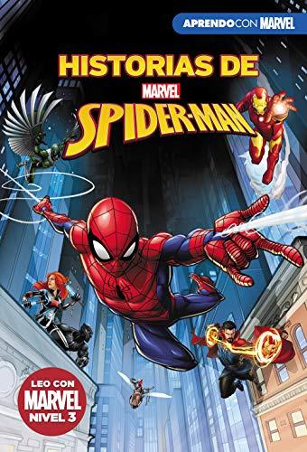 519g%2Be Z7OL - Historias de Spider-Man (Leo con Marvel - Nivel 3): La picadura de la Viuda | El  increíble Spider-Hulk | Choque de portales | La venganza de Mysterio
