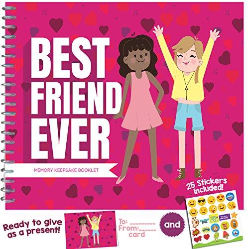 Best Friend Geschenke–ein sehr spezielles, Lustige und einzigartige Anerkennung Award Booklet für Ihre Best Friend. (Ihm T-shirt Erwachsenen)