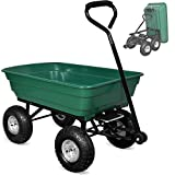 Deuba Gartenkarre | 300 kg | Kunststoff | Kippfunktion | Lenkachse |...