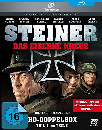 Bild von Steiner - Das eiserne Kreuz Teil 1+2 (HD-Doppelbox) - Filmjuwelen [2 Blu-rays]