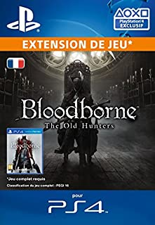 Bloodborne The Old Hunters [Extension De Jeu] [Code Jeu PSN PS4 - Compte français] (B0186ETNAO) | Amazon price tracker / tracking, Amazon price history charts, Amazon price watches, Amazon price drop alerts