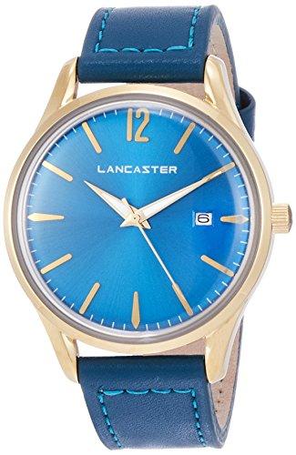 """Lancaster Paris """"Heritage"""" reloj de pulsera azul claro mujer"""
