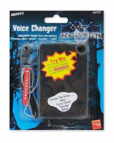 Close Up Stimmenverzerrer Voice Changer, 4 Stimmen einstellbar, mit Mikrofonschnur (Changer Voice Alien)
