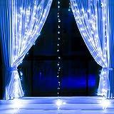 LED Fenster Vorhang String Licht Für Hochzeit Terrasse Parteien Hausgarten Outdoor Indoor Wand Dekorative Lichter,Blue