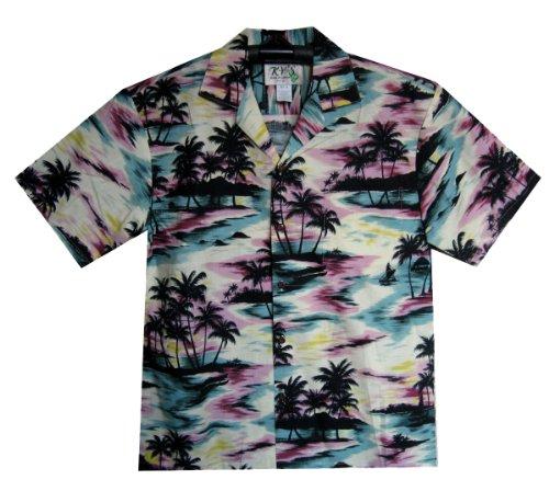 KYs-Original-Camisa-Hawaiana-Camouflage-multicolor-XL