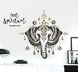 CczxfccMonili Stile Nordico Elefante Religioso Adesivi Animali Da Parete Per Soggiorno Camera Da Letto Decalcomanie Per L'Arte Camera Dei Bambini Grandi Murales