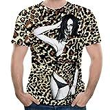 Mode Herren Splash-Tinte 3D Drucken Tees Hemd Kurz Ärmel T-Shirt Bluse Tops