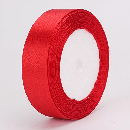 30mm Satinband rot in 22-25Meter Rolle, die ganz - Box $25 Geschenk-karte In