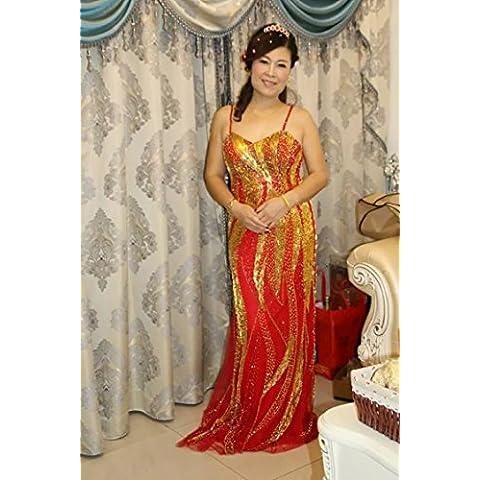acrolinda Mujer 1950s FundaEL Condole cinturón de elegante vestido de cóctel vestidos de boda