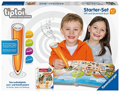 Ravensburger tiptoi Paket 93925: für Kinder ab 4 Jahren, Sie sparen über 30% gegenüber Einzelkauf, bundle (Globus 4)