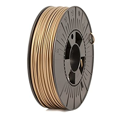 ICE FILAMENTS ICEFIL3PLA125 PLA Filament, 2.85 mm, 0.75 kg, Groovy Gold