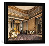 Gerahmtes Bild von Konstantin Andrejewitsch Ukhtomsky Moskau, Prunkschlafzimmer/Ukhtomsky, Kunstdruck im hochwertigen handgefertigten Bilder-Rahmen, 40x30 cm, Schwarz matt