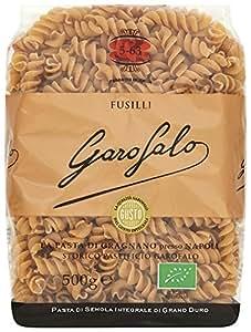 Garofalo Whole Wheat Organic Fusilli 500g (Pack of 4)