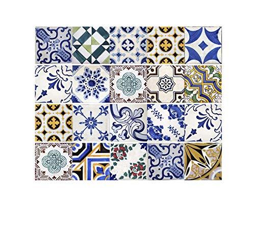 Fliesenaufkleber 20x20 cm x 20 stücke vintage wandaufkleber hause wohnzimmer schlafzimmer küche ausschnitt diy wandkunst aufkleber