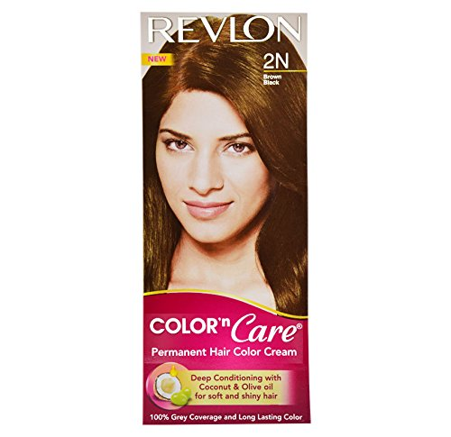 Revlon Color N Care Permanent Hair Color Cream, Brown Black 2N  available at amazon for Rs.166