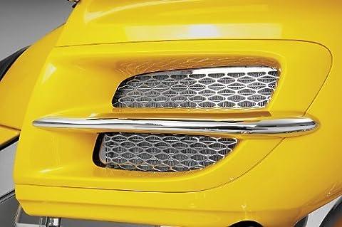 Show Chrome 41-7349 01-05 Honda Gl1800: Radiator Grilles - Chrome