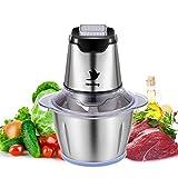 Nestling® 500W Universal Universalzerkleinerer 1.2L Elektrisch Küchenmaschine Zwiebelschneider, Küchenhelfer für Gemüse, Multi-Zerkleinerer für Fleisch