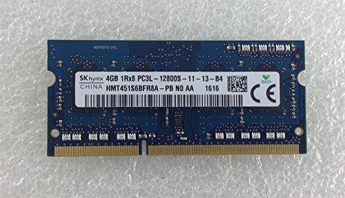 Foto Dell Inspiron 15 3552 3000 4 GB DDR3 PC3 RAM Memory SO-DIMM 12800S HMT451S6BFR8A