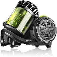 Cecotec Aspirador Trineo Conga Powerciclonic. Aspirador sin Bolsa Potente. Tecnología multiciclónica. Filtro HEPA