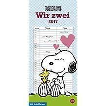 Peanuts Planer für zwei - Kalender 2017