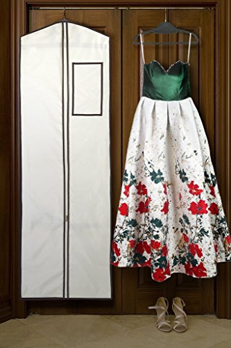 Ecooe Kleidersack Kleiderhülle für Ihr Hochzeitskleid / Brautkleid / Abendkleid / Ballkleid...