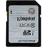 Kingston SD10VG2/32GB - Tarjeta SD UHS-I SDHC/SDXC (Clase 10 - 32GB)