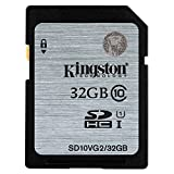 Kingston SD10VG2 UHS-I SDHC, 32GB, Class10 Speicherkarte