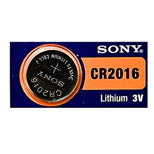 2PC Sony CR2016 2016 Lithium 3 V Knopfzellen – Made in Japan
