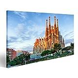 bilderfelix® Bild auf Leinwand Barcelona, Spanien - 10.