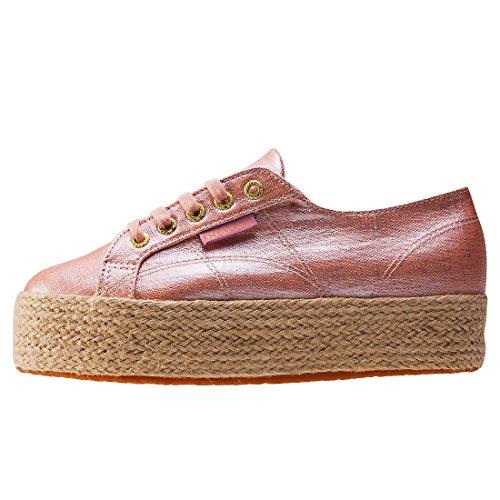 Superga 2790 Linrbrropew, Sneakers basses mixte adulte Pink (rose Gold)