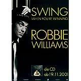 Robbie Williams - Swing (2001) - Konzertplakat, Konzertposter