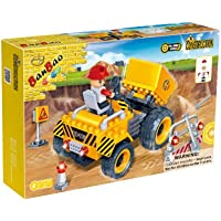 Price comparsion for BanBao Building Blocks Bricks Construction Dump Truck With Engineer - Best Selling Toys & Games Creative Boy Child Children Boys Kids - Great Idea for Fun Easter, Birthday Xmas, Christmas, Stocking Filler Present Gift or Reward or Pocket Money Treat - One