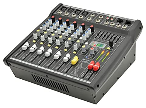 Citronic 170.840 CSP Series Compact Powered Mixers with DSP