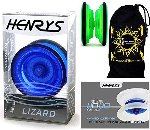henrys-lizard-yoyo-blau-professionelle-entry-level-yoyo-lehr-broschre-von-tricks-stoff-reisetasche-g