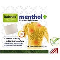 Preisvergleich für Balanox menthol+ Wirkstoff-Pflaster | Sport-Pflaster für Nacken, Schulter, Rücken, Glieder | wohltuend bei Verspannungen...