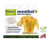 Balanox menthol+ Wirkstoff-Pflaster | Sport-Pflaster für Nacken, Schulter, Rücken, Glieder | wohltuend bei Verspannungen und akuten Belastungen