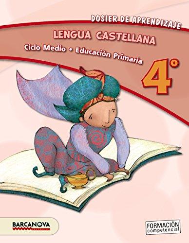 Lengua castellana 4º CM. Dosier de aprendizaje (ed. 2013) (Materials Educatius - Cicle Mitjà - Llengua Castellana) - 9788448931773