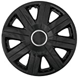 "Cartrend 70271 Wheel trim set ""Cosmos"", black, set of 4, 40.64 cm ( 16 inches ) - set of 4"