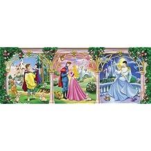 Clementoni 28096.4 - Puzzle de 160 piezas en formato panorámico, diseño de princesas Disney
