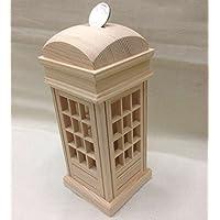 Preisvergleich für XBR ein geldschrank, eine telefonzelle, eine form zu brust; ein hölzernes ändern; eine spardose,8,5 × 8,5 × 19 cm