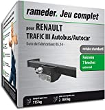 Rameder Pack attelage rotule Standard 2 Trous pour Renault TRAFIC III Autobus/Autocar...