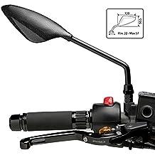 Espejo Retrovisor Puig RS2 Yamaha XJ6 Diversion 09-16 (pareja) simil carbono