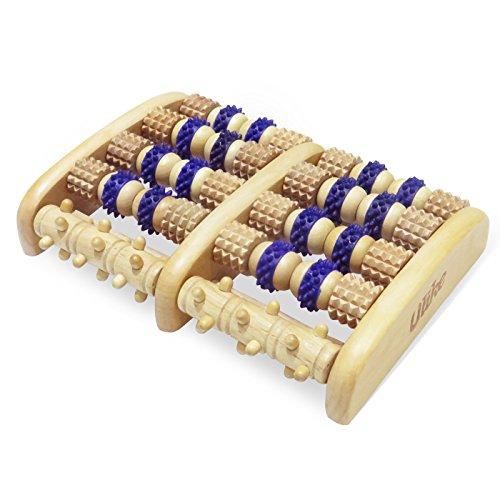 ULIKE madera rodillo pie masaje Herramientas Reflexología