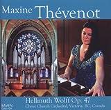 Maxine Thevenot Plays Hellmuth Wolff Organ by Bach (2011-11-08)