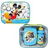 Mickey Mouse - Set per il pranzo, 3 pezzi, motivo: Topolino
