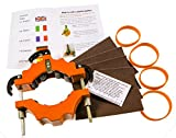 Creative Bottle Cutting Cutter taglierino per bottiglie da 43 a 102 mm di diametro forte e resistente ideale per regalo creativo portacandele decorazioni ecc; istruzioni complete incluse [italiano non garantito] Un modo divertente di riciclare.