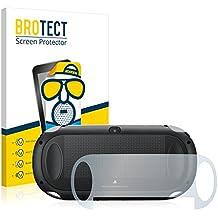 2x BROTECT Protector Pantalla para Sony PCH-1000-Serie PlayStation PS Vita Touchpad (Trasero) - Mate, Película Antireflejos