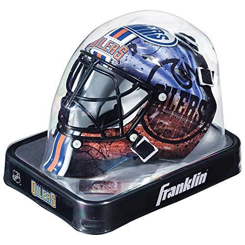 Franklin Sports Eishockey-Sammelartikel Torwart-Helm Mini, Design: Logo Einer NHL-Mannschaft, Unisex, 7784F17, Navy, Einheitsgröße -