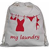 Laundry Bag, Travel Size (LOTS OF DESIGNS) 100% Cotton