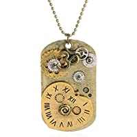 SaySure - Vintage Retro Clock Decoration Steampunk Necklaces